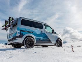 Winter Camper Concept, la van diseñada para las aventuras invernales