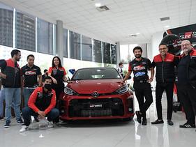 Toyota entrega el primer GR Yaris en México
