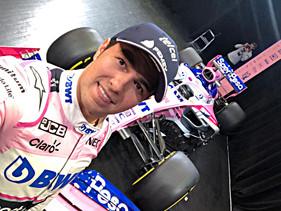 Presenta Checo Pérez el nuevo  auto de SportPesa Racing Point