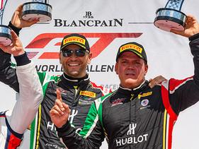 Vuelve a apoderarse de podium en Virginia International Raceway