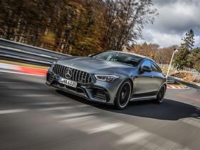 Vehículo de lujo más rápido de Nürburgring.