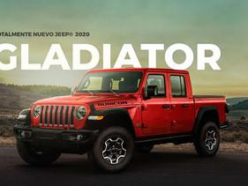 JeepMéxico prepara la llegada de GLADIATOR 2020 al mercado mexicano
