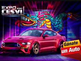 Pre registrarse en Expo CESVI 2020 y consigue boletos para la rifa de un auto restaurado