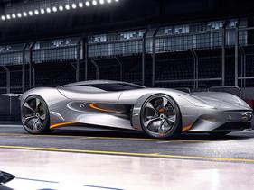 Jaguar diseña auto de carreras Vision Gran Turismo totalmente eléctrico para Gran Turismo Sport