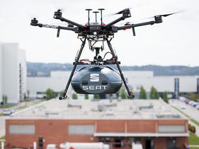 SEAT y Grupo Sesé se conectan a través de dron