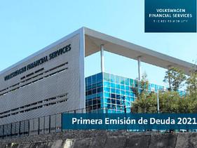Exitosa emisión de deuda por $2,000 millones de pesos