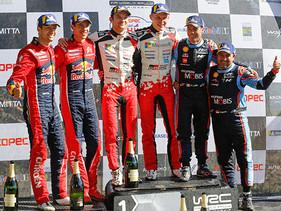Hyundai consigue podio en el Rally de Chile