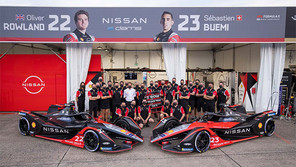 Nissan e.dams conquista podio en la carrera final