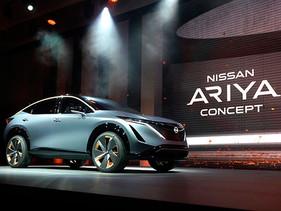 Nissan Ariya Concept es develado en el Auto Show de Tokio 2019