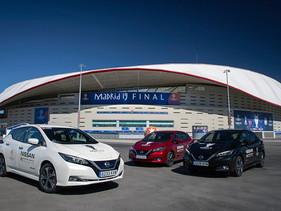 Nissan electrifica la final de la UEFA Champions League en Madrid