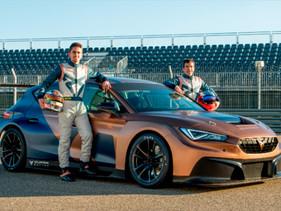 CUPRA disputará el WTCR 2021 con Jordi Gené y Mikel Azcona al volante
