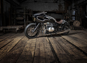 Nueva motocicleta personalizada, la Blechmann R 18.
