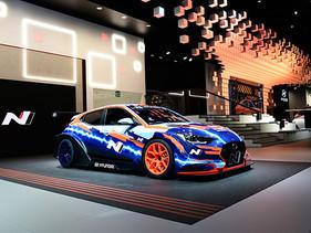 Hyundai Motorsport revela el Veloster N ETCR en el IAA 2019