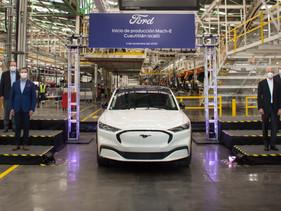 Mustang Mach-E: inicia la producción del auto eléctrico de Ford en México