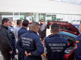Nissan capacita sobre vehículos eléctricos a cuerpos de bomberos en países de América Latina