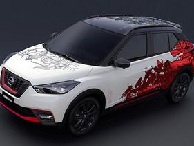 Nissan fusiona culturas en un vehículo concepto para celebrar el tercer aniversario de Kicks
