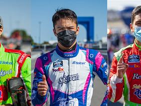 De Alba Jr, Noel León y Juan Ma. González van por todo en NASCAR México