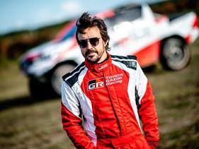 Fernando Alonso entrena duro en Polonia con TOYOTA GAZOO Racing