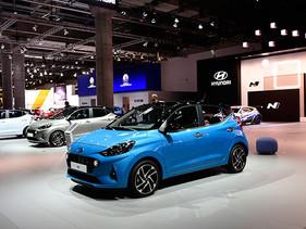 Hyundai Motor presenta el nuevo i10, así como su versión 'N', en el IAA 2019