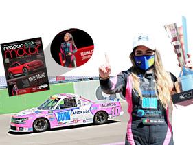 Regina Sirvent consigue su segundo triunfo en Trucks
