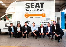 SEAT México a través de Murcia Motors implementa el Taller de Servicio Móvil