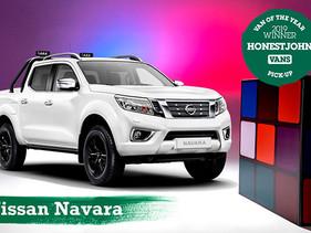 Nissan NP300 Frontier, reconocida como la mejor Pick Up del año en Reino Unido