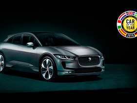 Jaguar I-Pace es el Auto Europeo del Año