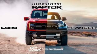 Las bestias existen, familia Ford Raptor