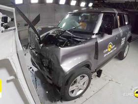 Euro NCAP otorga cinco estrellas al Lan Rover Defender 110