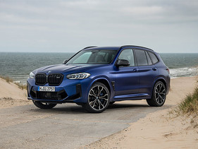 El nuevo BMW X3 M Competition y el nuevo BMW X4 M Competition.