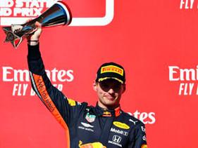 Sexto podio para Verstappen en el Gran Premio de F1 de Austin