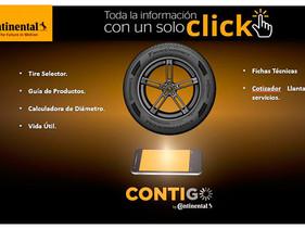 CONTIGO, nueva aplicación de Continental para una fuerza de ventas aún más capacitada