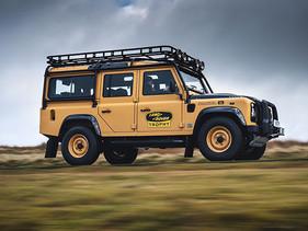 Listo para la aventura, Land Rover Defender Works V8 Trophy