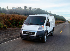 Ram ProMaster 2021, presentada en The Work Truck Show en Indianápolis