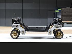 TIGER, el concepto de Vehículo de Máxima Movilidad sin tripulación