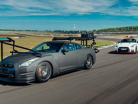 ¿Cuál es el único vehículo capaz de filmar al GT-R NISMO 2020? Otro GT-R