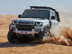 Construye y personaliza el Land Rover Defender en realidad aumentada