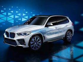 El BMW i Hydrogen NEXT en el IAA 2019.