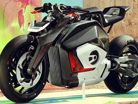 El BMW Motorrad Vision DC Roadster