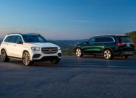 Dos nuevos miembros de la familia de SUVs de Mercedes-Benz