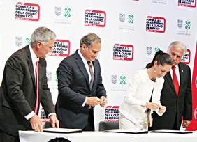 Firman la permanencia de la Fórmula 1 en México por tres años más