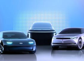 Marca IONIQ dedicada a vehículos eléctricos (EV)