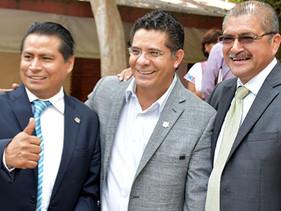 Rabindranath Salazar, en diálogo directo con líderes de Morelos