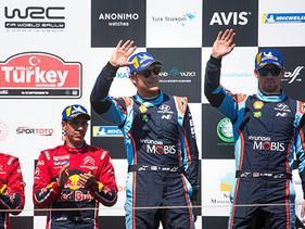 Mikkelsen logra podio en el Rally de Turquía