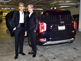 Palisade de Hyundai, acompaña a BTS en su primer gran evento internacional