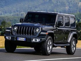"""Jeep Wrangler reconocido """"4x4 de I´année 2019"""""""
