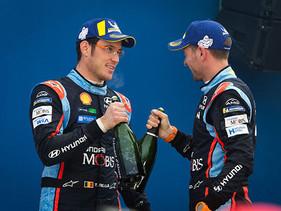 Neuville consigue su segundo podio del año en el WRC