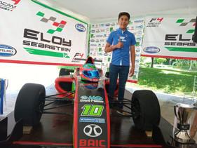 Debuta este domingo Eloy Sebastián en Fórmula 4, la antesala de la F1