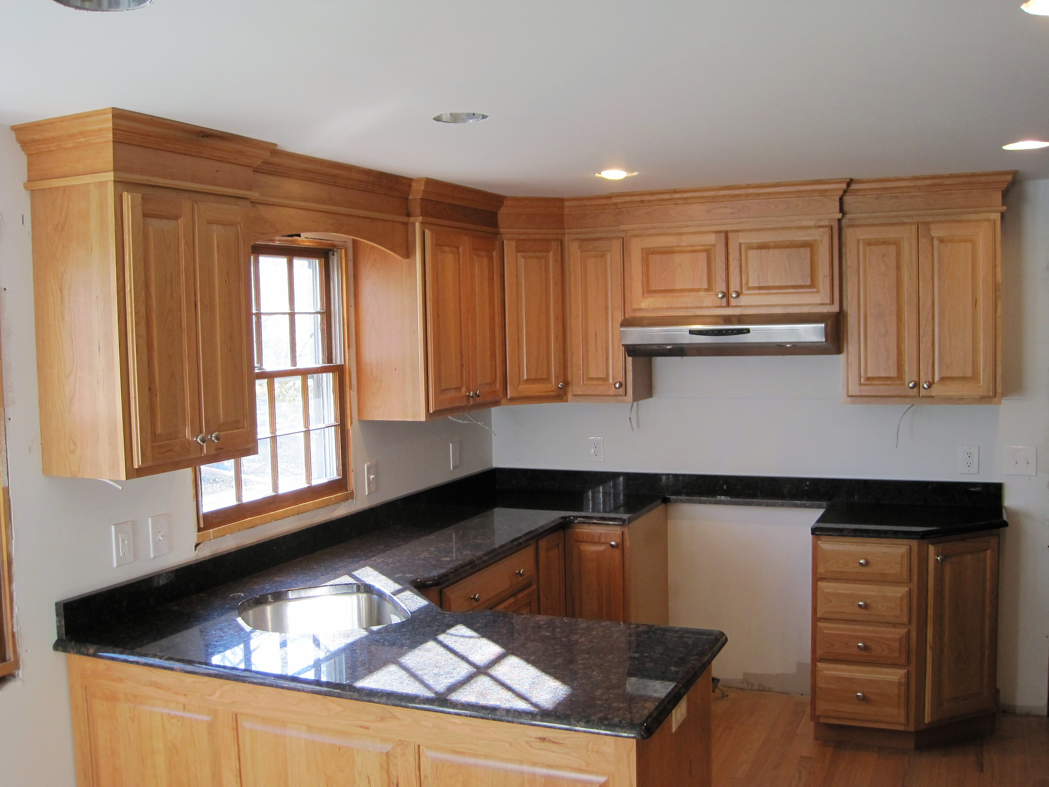 R.D. Henry Custom Cherry Cabinets
