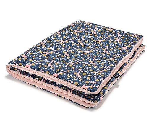 French Rose Jardin Winter Blanket